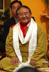 Sogyal Rinpoche smiling august 2008 Photo 3 sizes