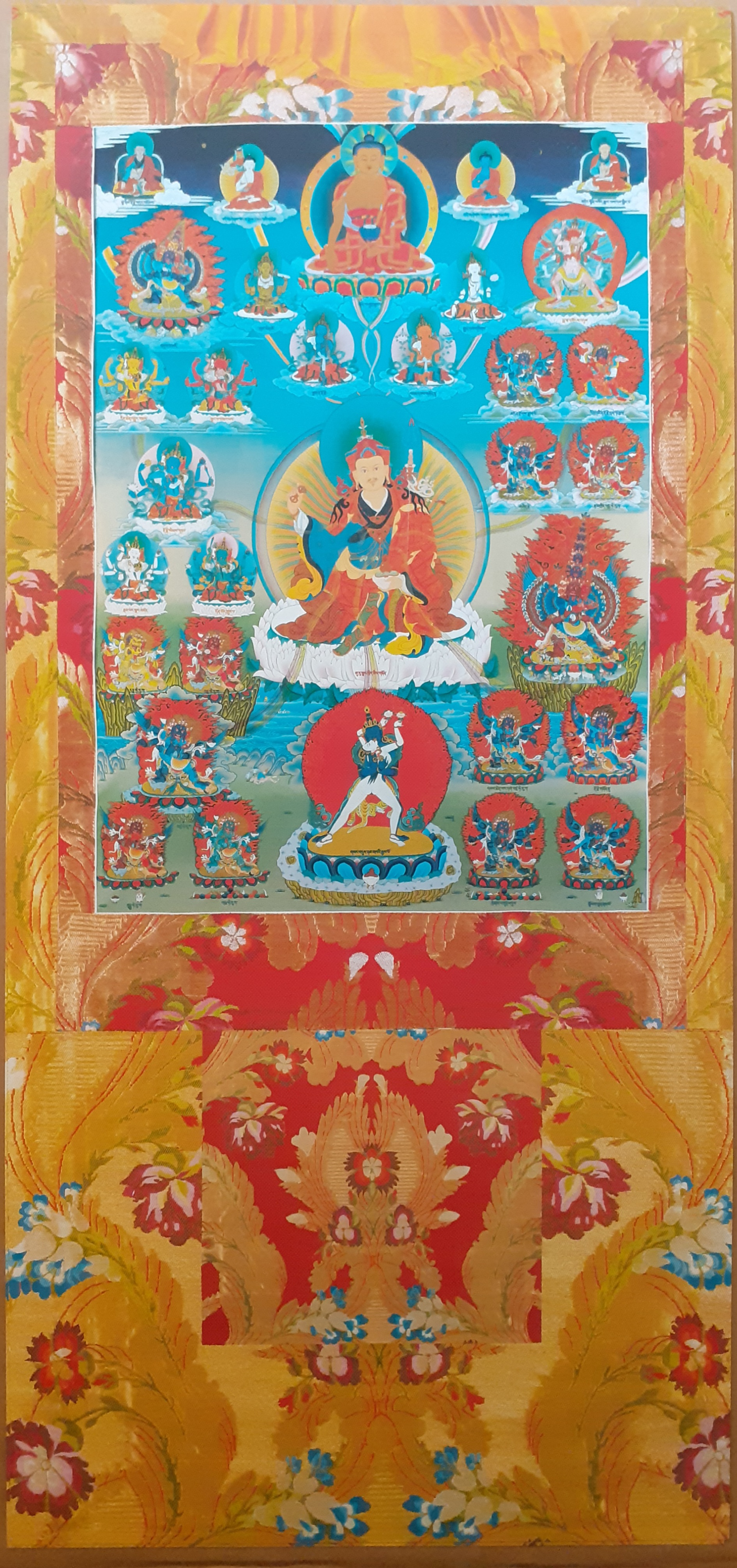 Tendrel Nyesel Vinyl Thangka Amarillo