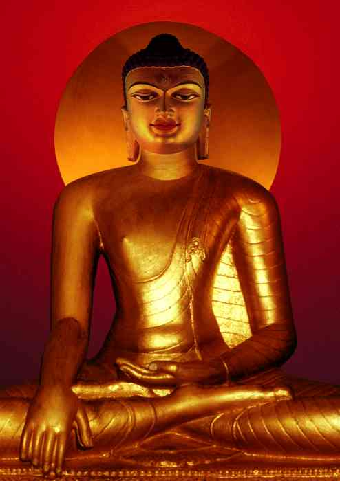 Buddha Shakyamuni (Bodhgaya) Photo 6 sizes - Click Image to Close