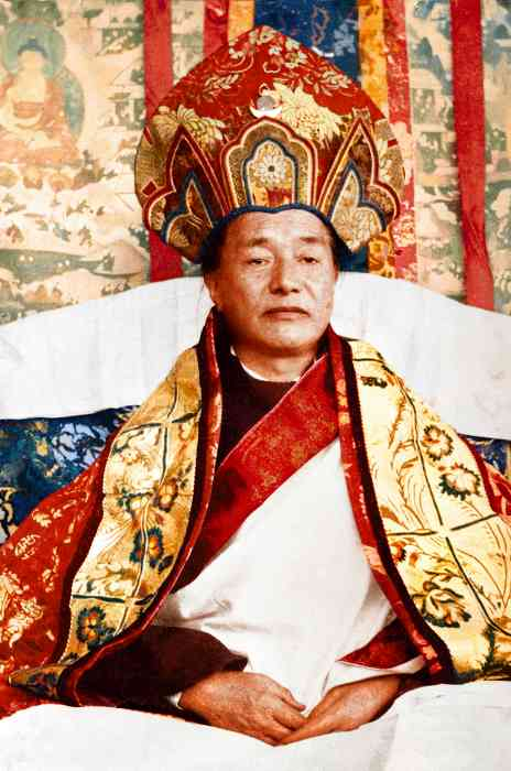 Dudjom Rinpoche Photo 6 sizes