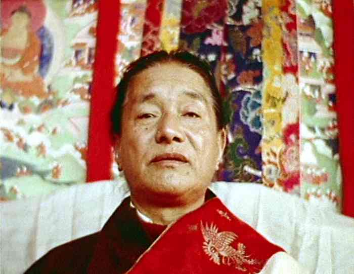 Dudjom Rinpoche's Gaze Photo 6 sizes