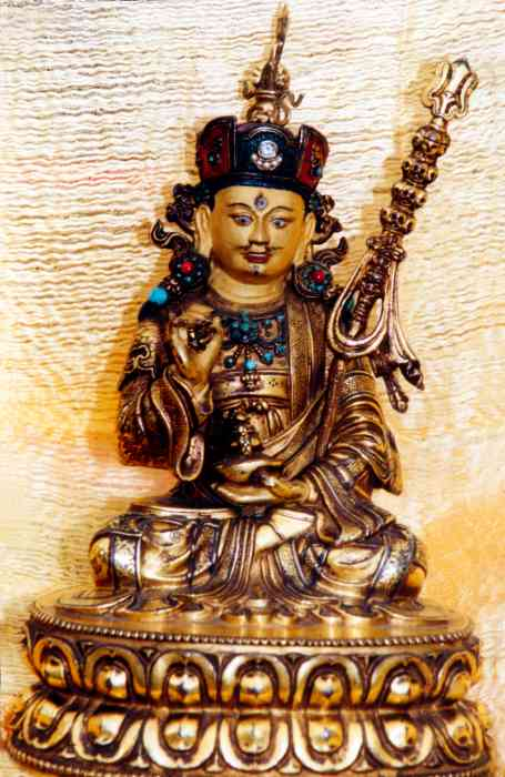 Guru Rinpoche statue Photo 6 sizes