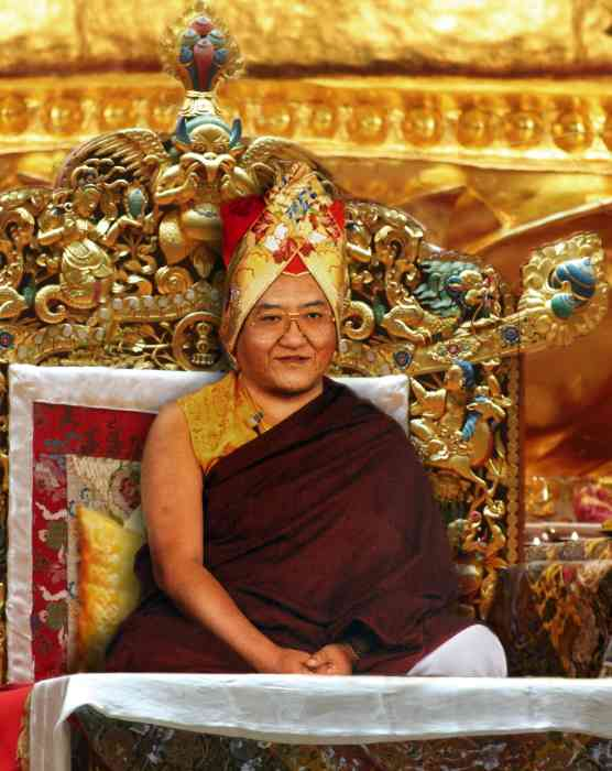 Sakya Trizin Photo 6 sizes