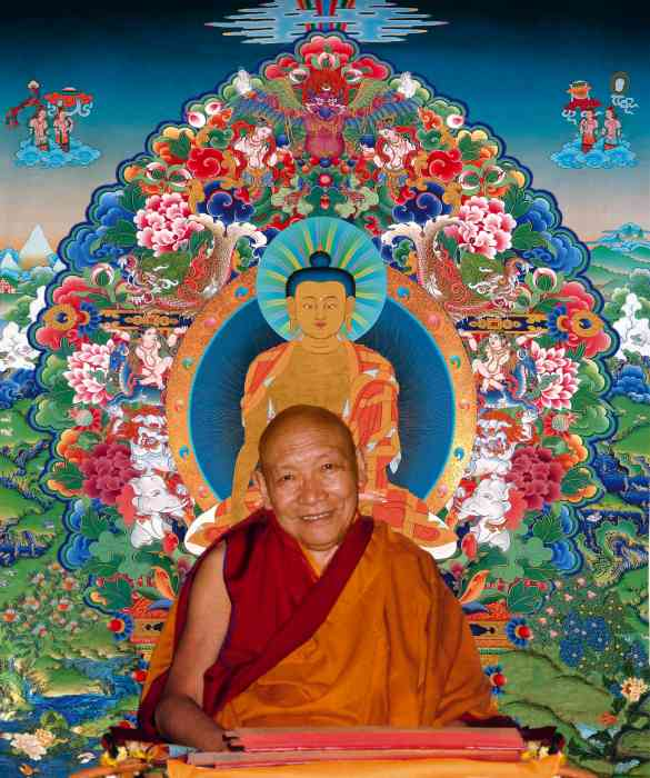 Trulshik Rinpoche Photo 6 sizes