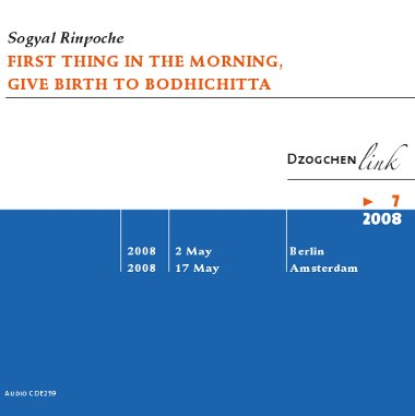 First Thing in the Morning,Give Birth to Bodhichitta CD