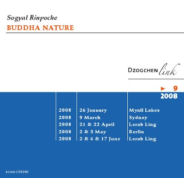 Buddha nature CD
