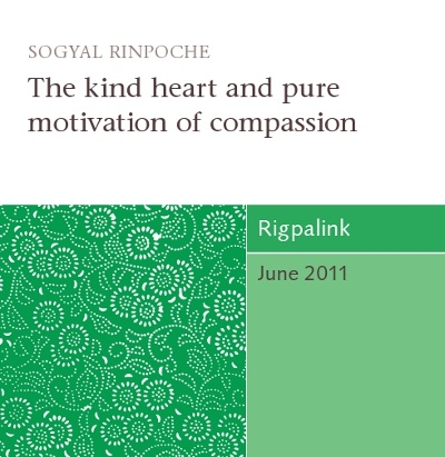 The kind heart and pure motivation of compassion CD or DVD