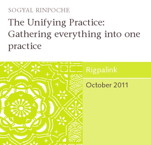 The Unifying Practice: Gathering everything into one practice CD or DVD
