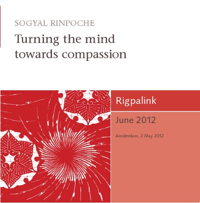 Turning the mind towards compassion CD or DVD