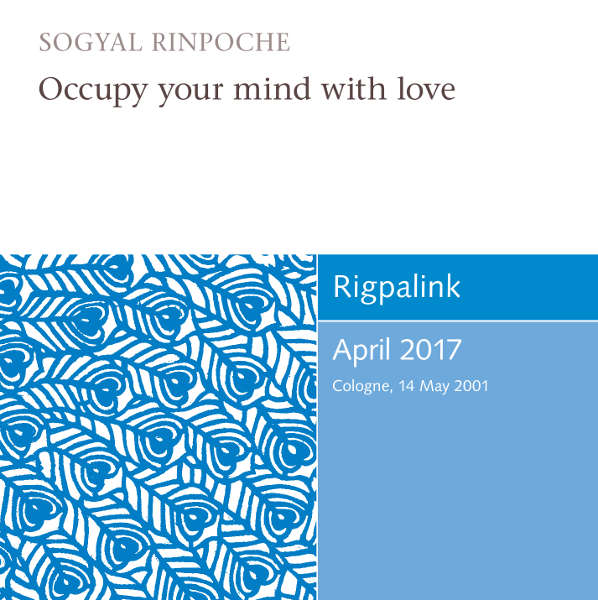 Occupy your mind with love MP3 or DVD