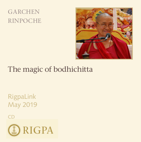 The magic of bodhichitta audio or video