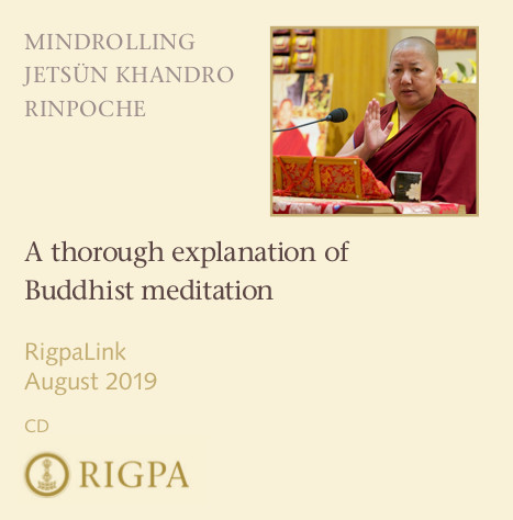 A thorough explanation of Buddhist meditation audio or video
