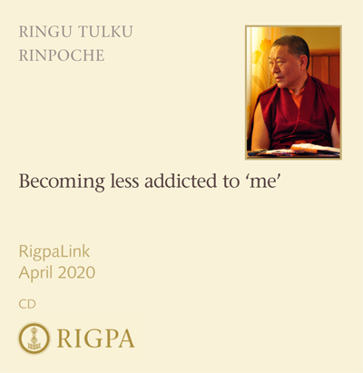 Becoming less addicted to 'me' - Ringu Tulku Rinpoche audio or video