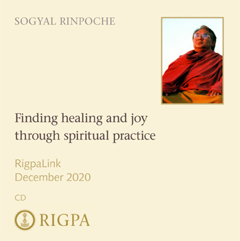 Finding healing and joy through spiritual practice - Sogyal Rinpoch audio or video