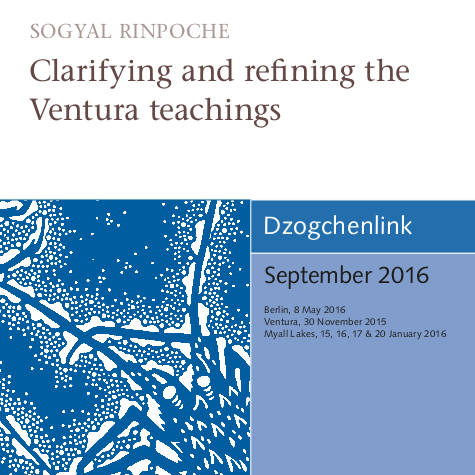 Clarifying and refining the Ventura teachings MP3 CD