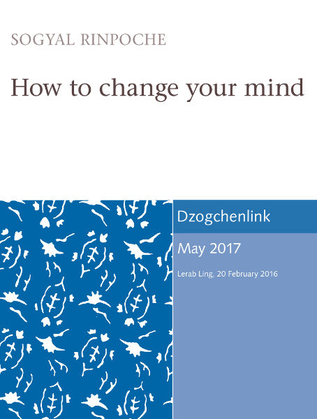 How to change your mind MP3 + MP4 CDs