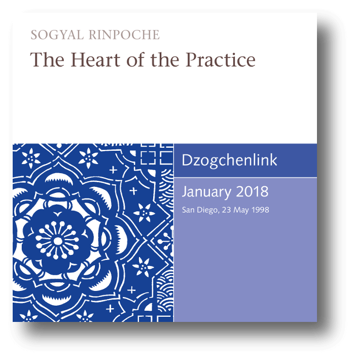 The Heart of the Practice MP3 CD