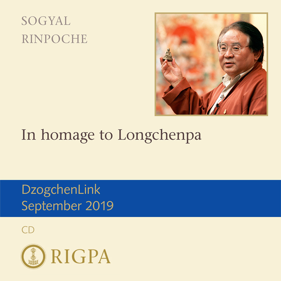 In homage to Longchenpa MP3 CD