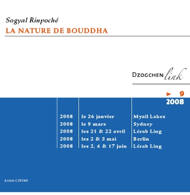 la nature de Bouddha CD