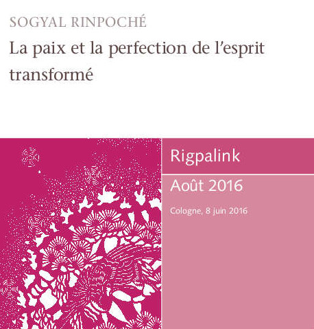 La paix et la perfection de l'esprit transformé MP3 ou DVD