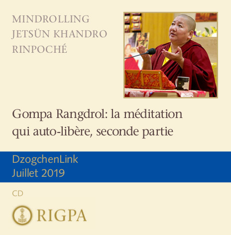 Gompa Rangdrol: la méditation qui auto-libère, seconde partie MP3 CD