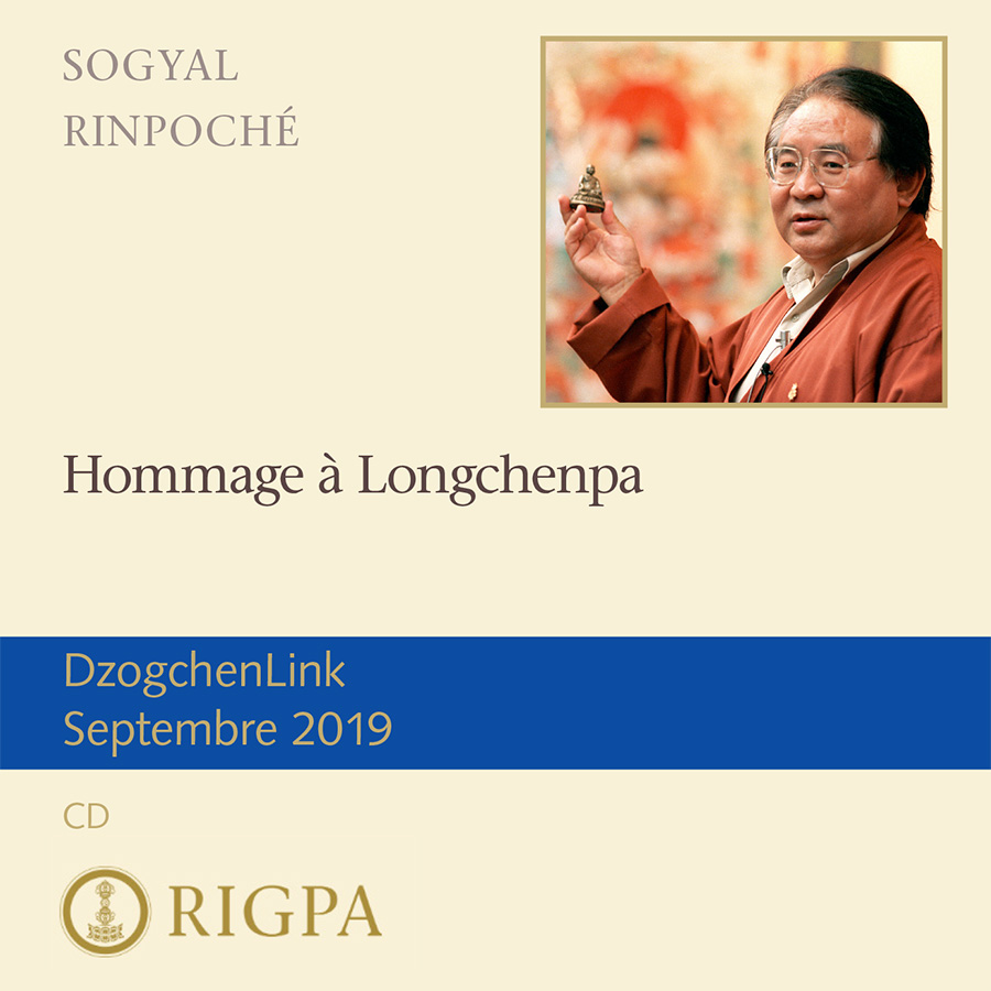 Hommage à Longchenpa MP3 CD
