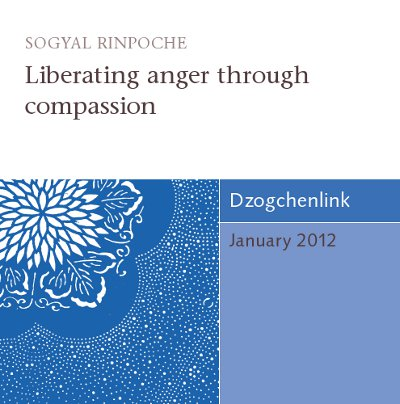 Liberating anger through compassion CD