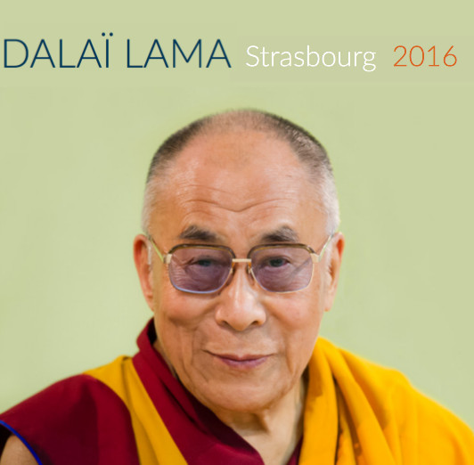 Dalaï Lama Strasbourg 2016 Public talk + The Commentary on Bodhichitta
