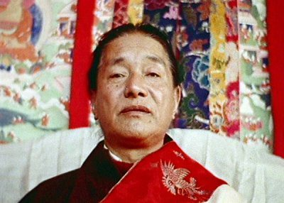 Dudjom Rinpoche Face Color Photos 4 sizes