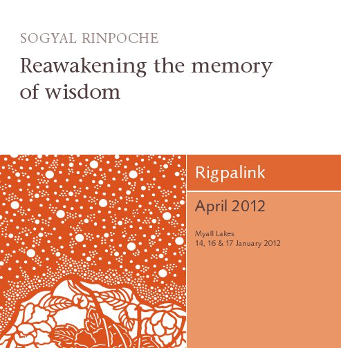Reawakening the memory of wisdom CD or DVD