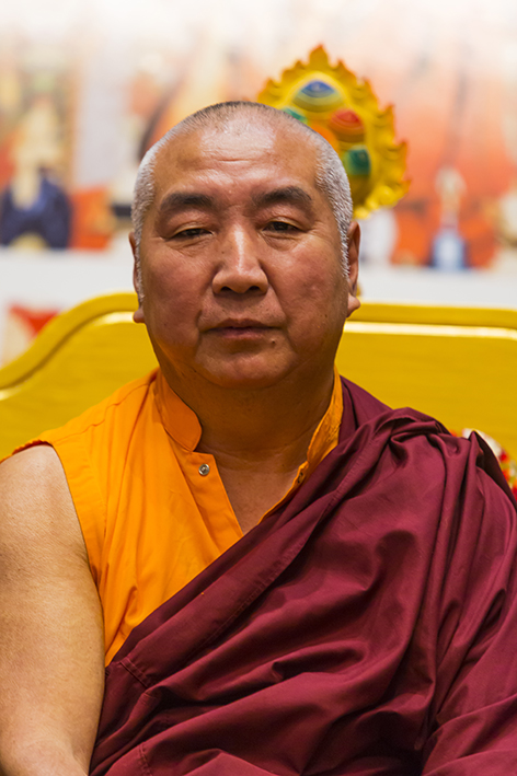 Khenchen Namdrol Rinpoche in Lerab Ling Photos 3 sizes