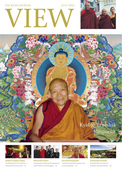 View, The Rigpa Journal Kyabjé Trulshik Rinpoche