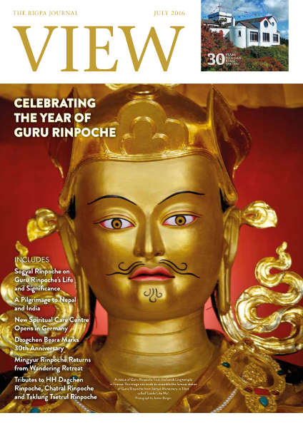 View, the Rigpa journal - July 2016