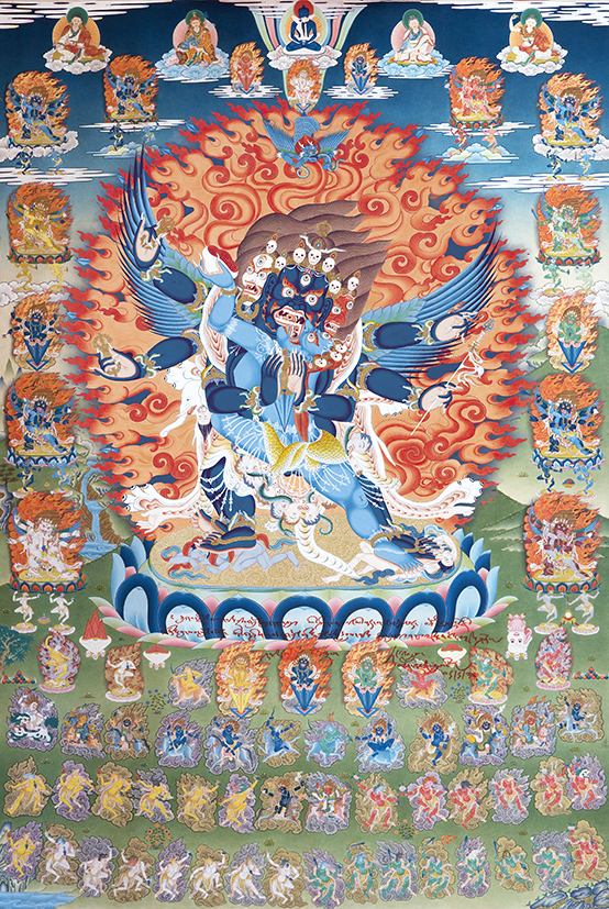 Vajrakilaya - Yang Nyi Pudri Photos 3 smaller sizes