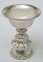 Butter Lamp Silver