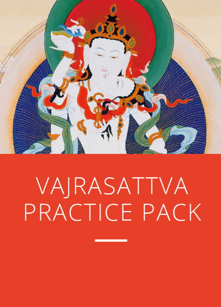 Vajrasattva Practice Pack Download or Physical pack