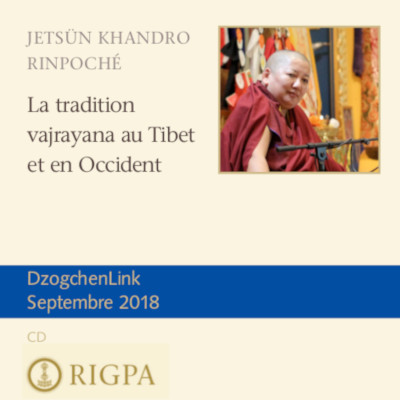 La tradition vajrayana au Tibet et en Occident MP3 CD