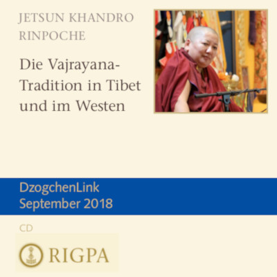 Die Vajrayana-Tradition in Tibet und im Westen MP3 CD