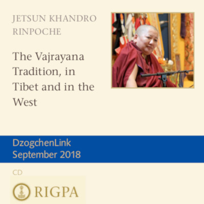The Vajrayana Tradition, in Tibet and in the West MP3 CD