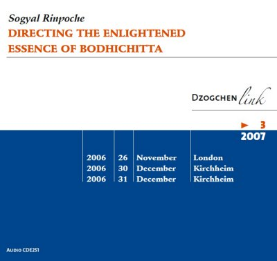 Directing the Enlightened Essence of Bodhichitta CD