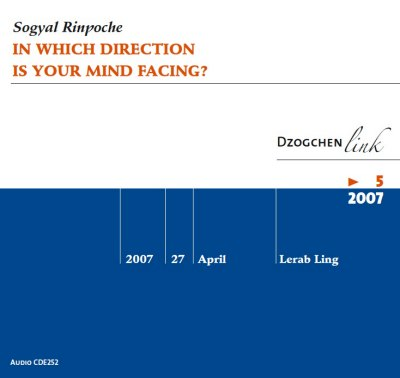 In which direction is your mind facing ? CD