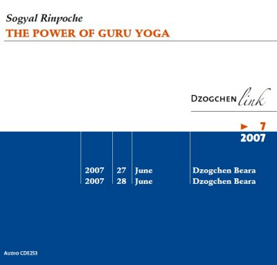 The Power of Guru Yoga CD