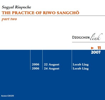 The practice of Riwo Sangchö part 2 CD