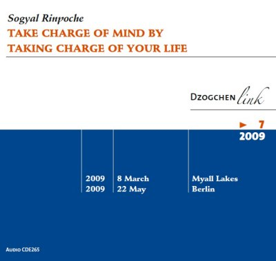 Take Charge of Mind by Taking Charge of Your Life CD