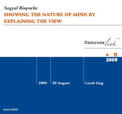 Showing the Nature of Mind by explaining the View CD
