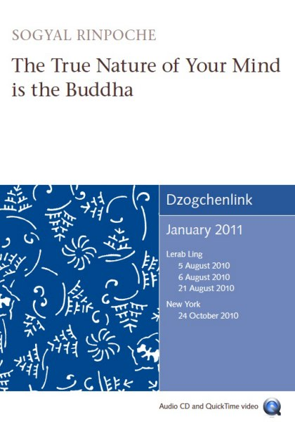 The True Nature of Your Mind is the Buddha 1CD+1CD-ROM