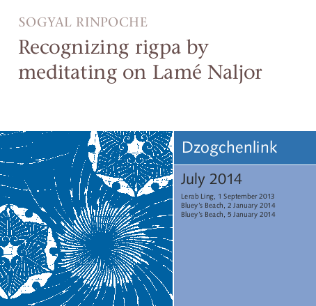 Recognizing rigpa by meditating on Lamé Naljor MP3