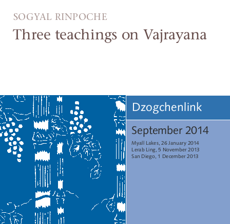 Three teachings on Vajrayana MP3