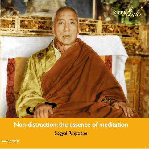 Non-distraction: the essence of meditation CD audio