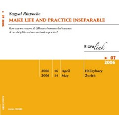 Make Life and Practice Inseparable CD or DVD
